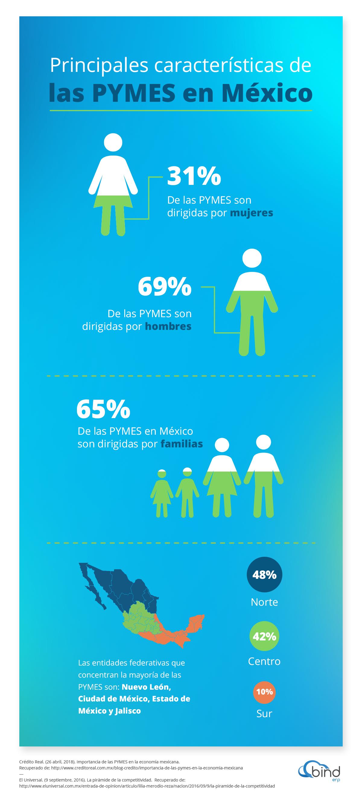 Principales caracteristicas de las PYMES en Mexico