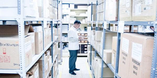administracion de almacenes de equipo medico