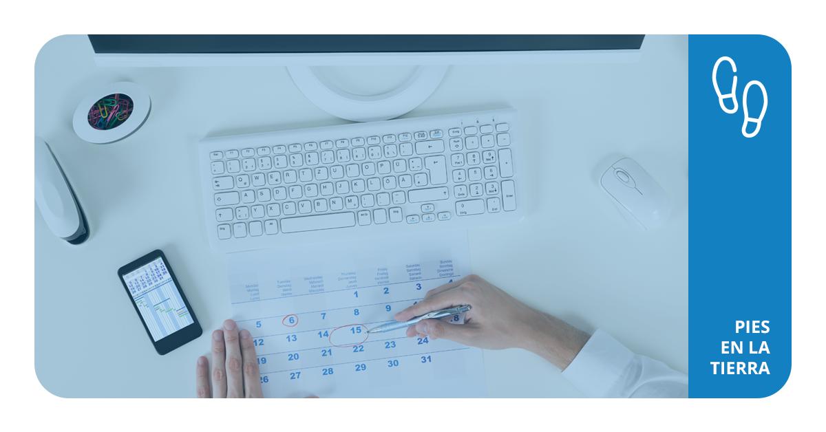 Define la periodicidad de tu sistema de control de inventarios
